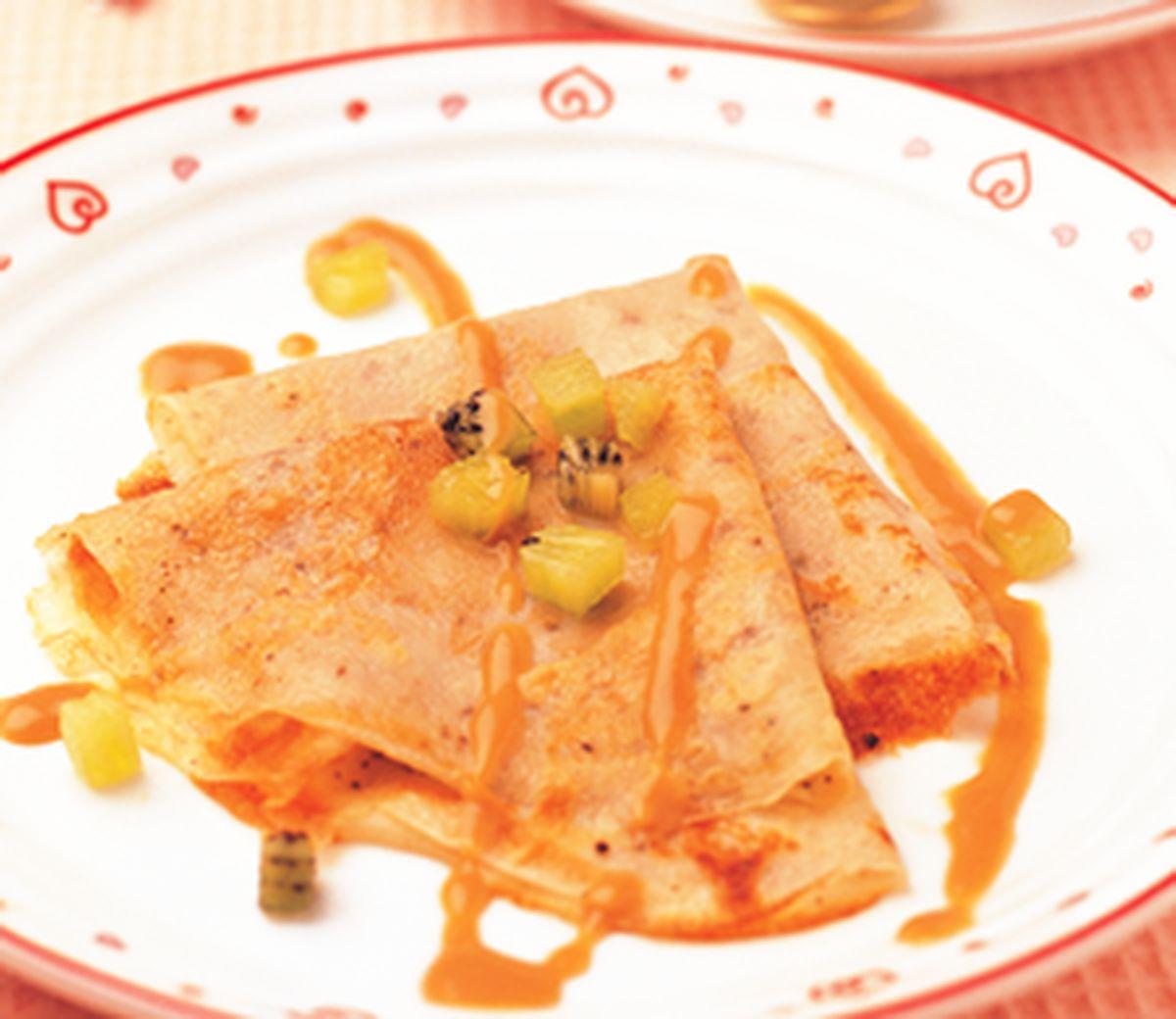 食譜:紅茶法式薄餅