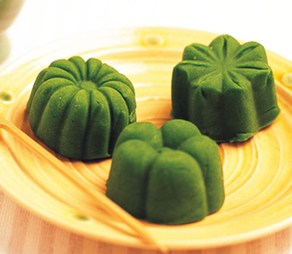 食譜:日式抹茶鬆糕