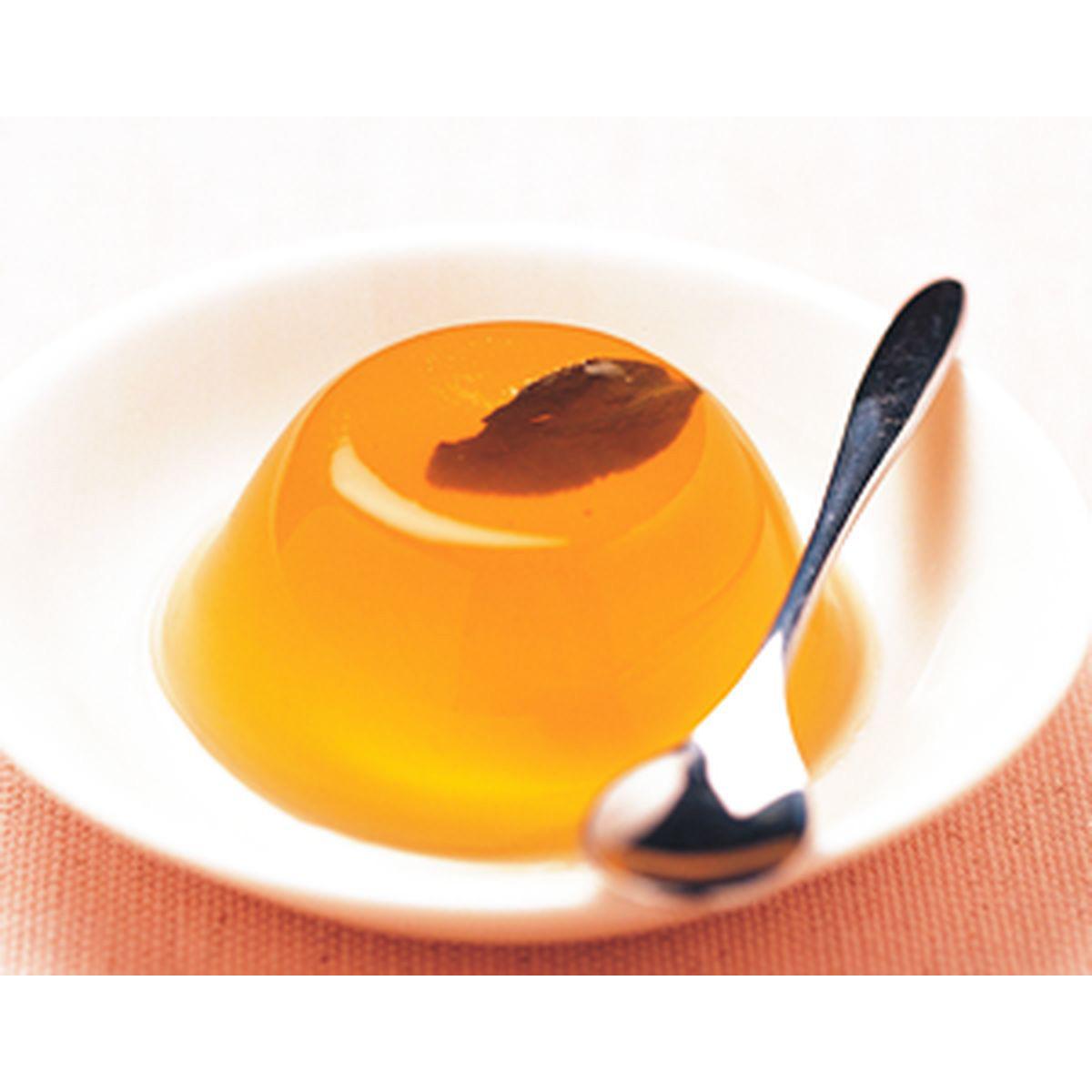 食譜:烏龍茶凍