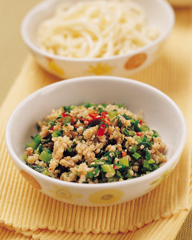 食譜:雪菜肉醬