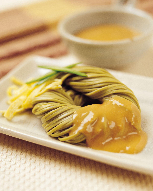 食譜:味噌素麵醬