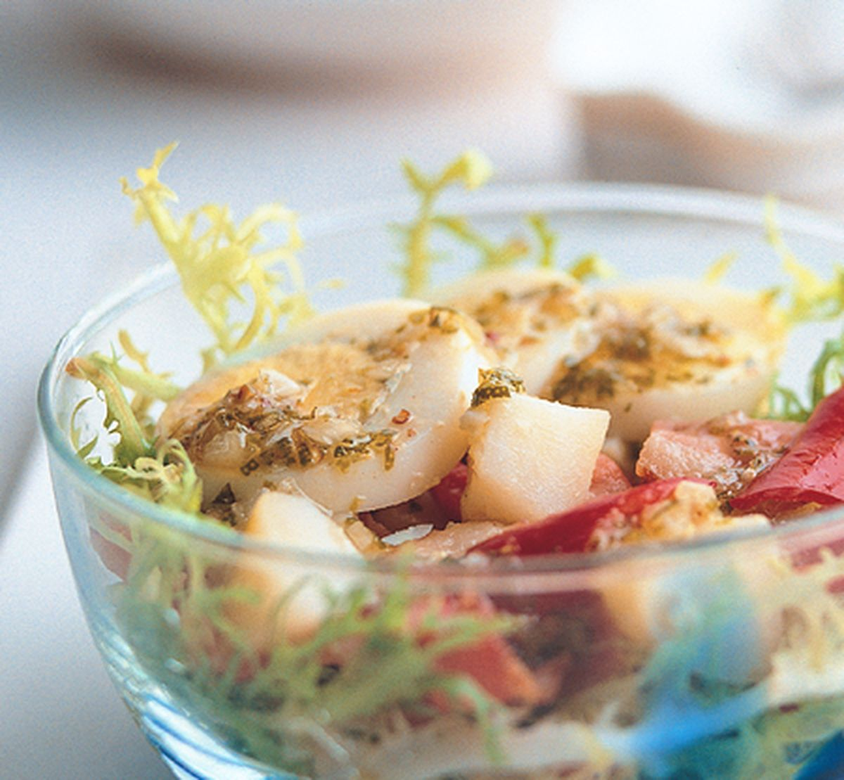 食譜:鬚苣沙拉