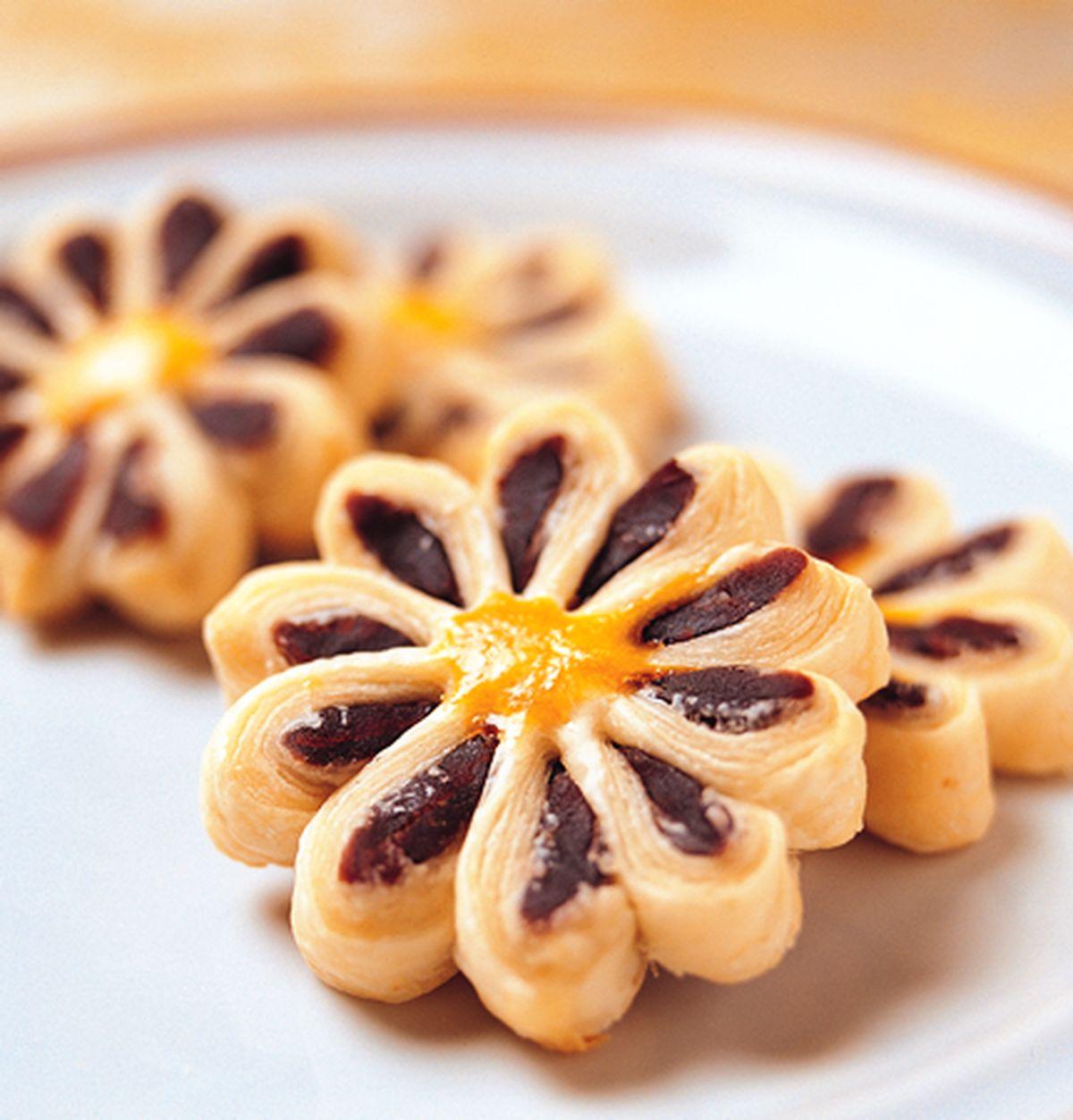 食譜:菊花酥餅(1)