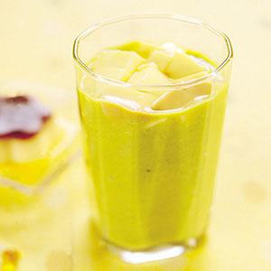 酪梨布丁果汁