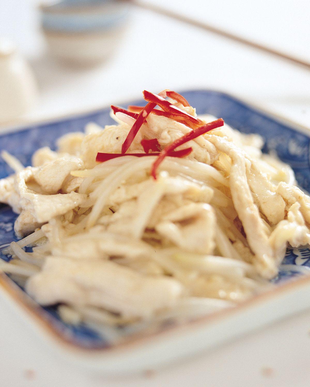 食譜:銀芽雞絲(2)