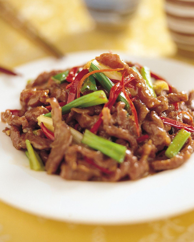 食譜:蔥爆牛肉(2)