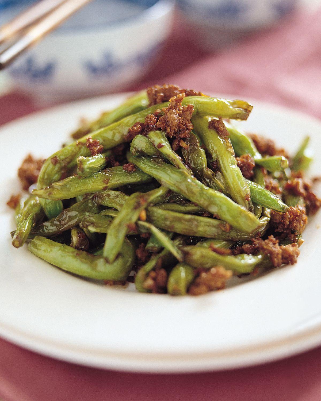 食譜:乾煸四季豆(2)