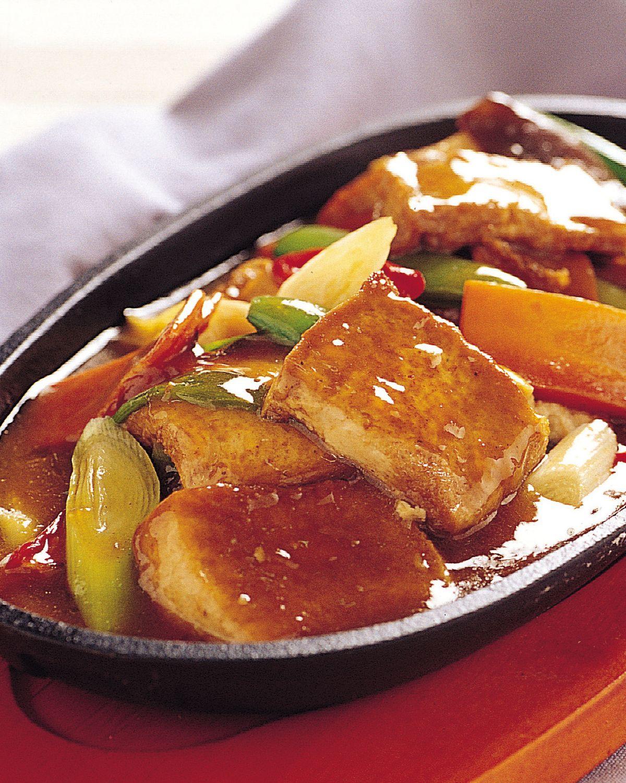 食譜:鐵板豆腐(2)