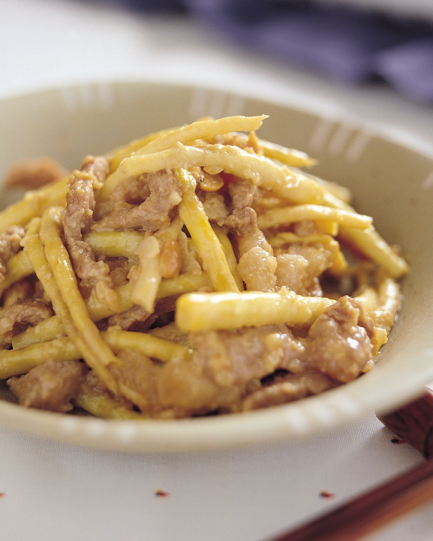 食譜:炒劍筍