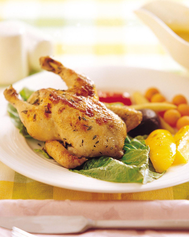食譜:百里香烤春雞