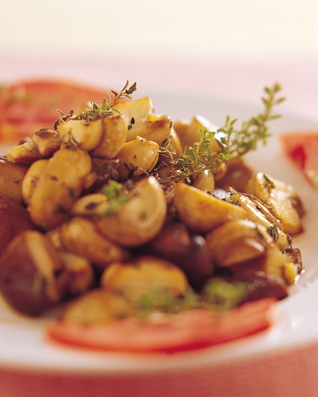 食譜:百里香炒野菇