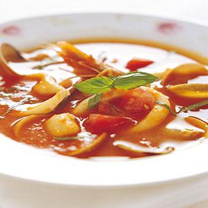 羅勒海鮮湯