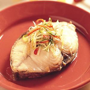 清蒸鱈魚飯