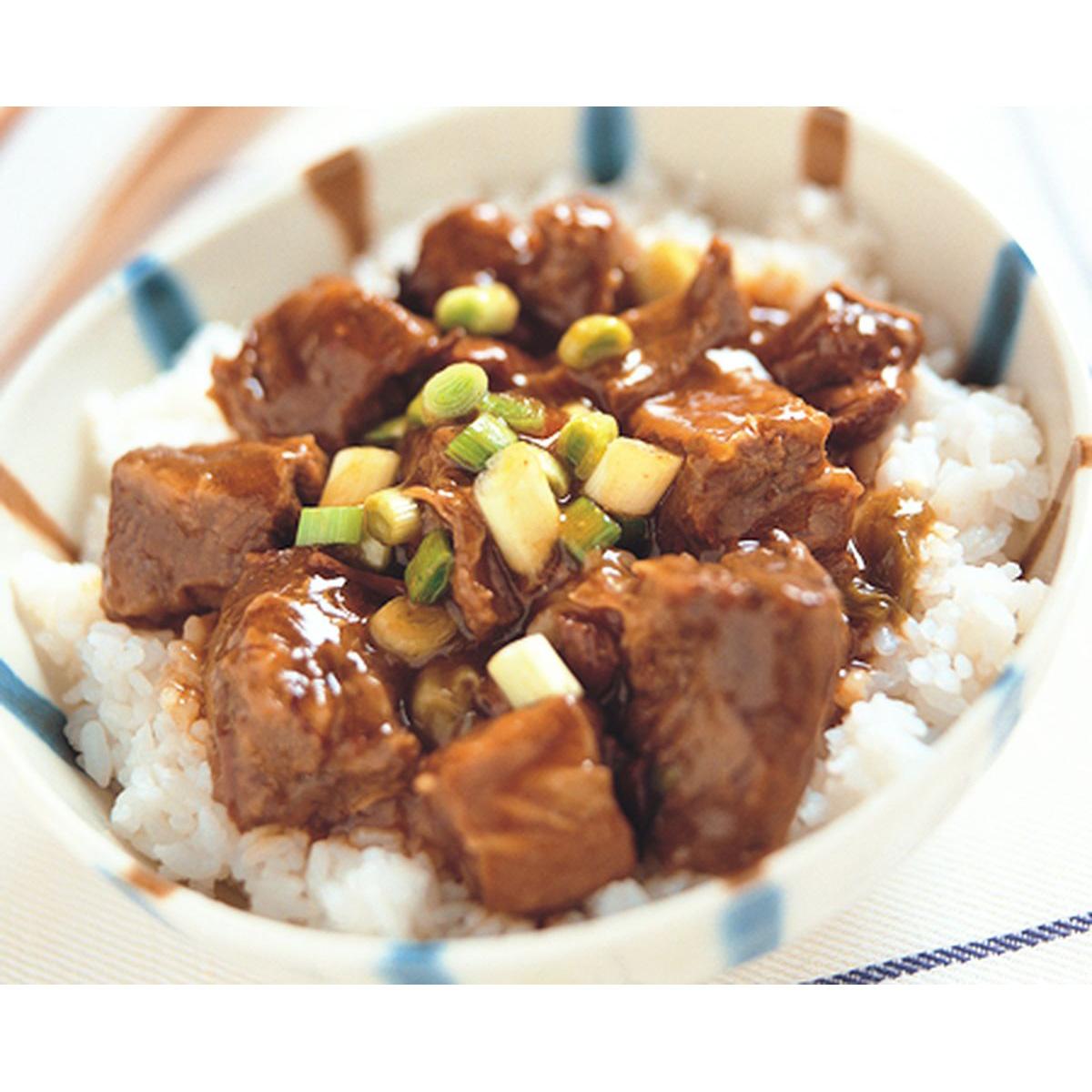 食譜:紅燒牛腩飯