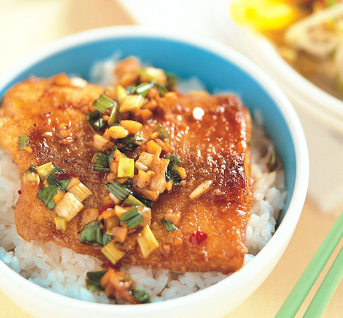食譜:日式烤肉飯