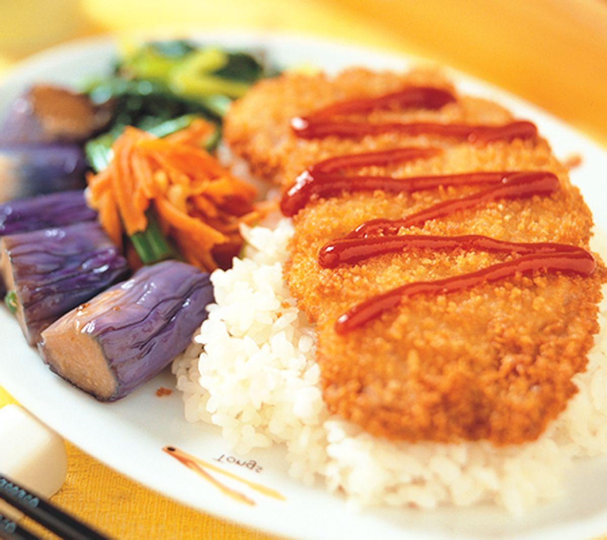 食譜:日式炸豬排飯