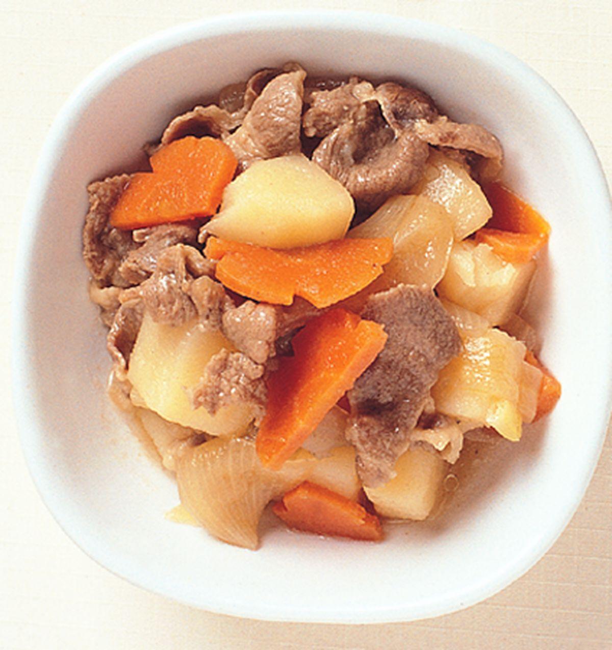 食譜:洋芋燒肉片