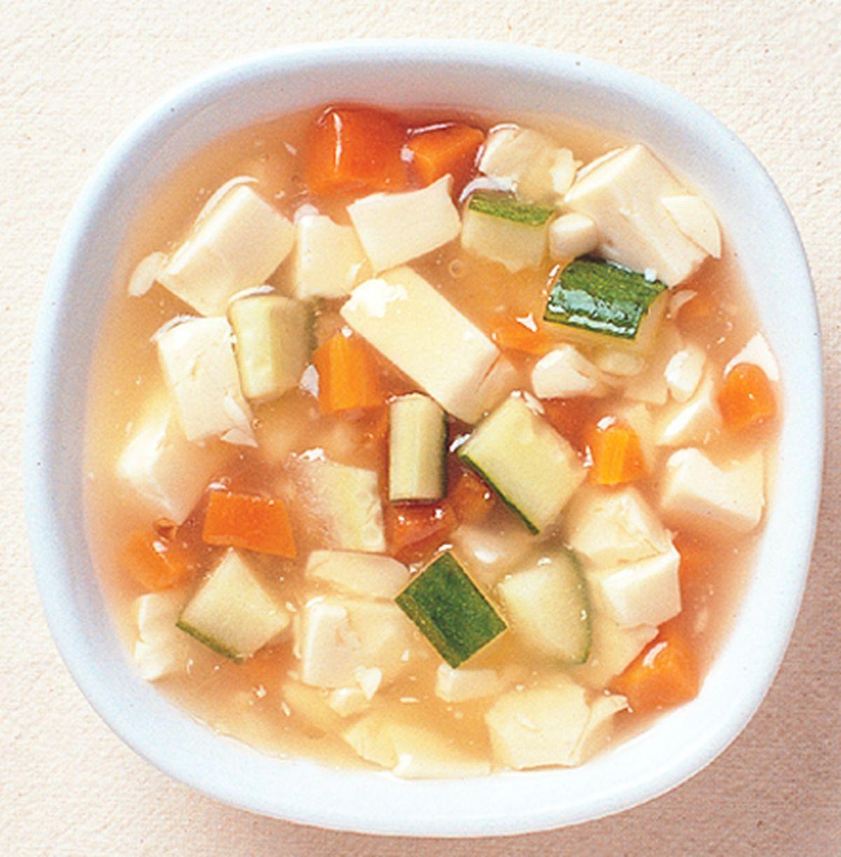 食譜:素燴豆腐