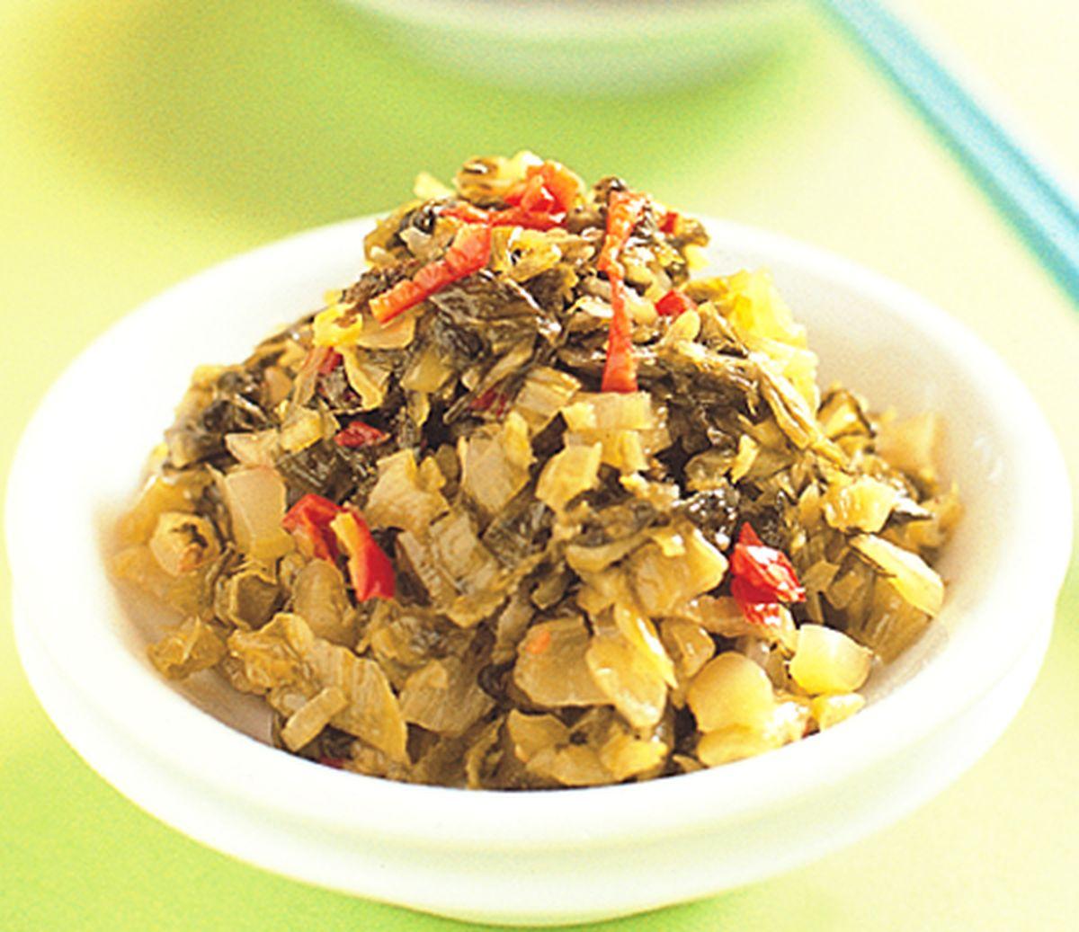 食譜:香辣酸菜