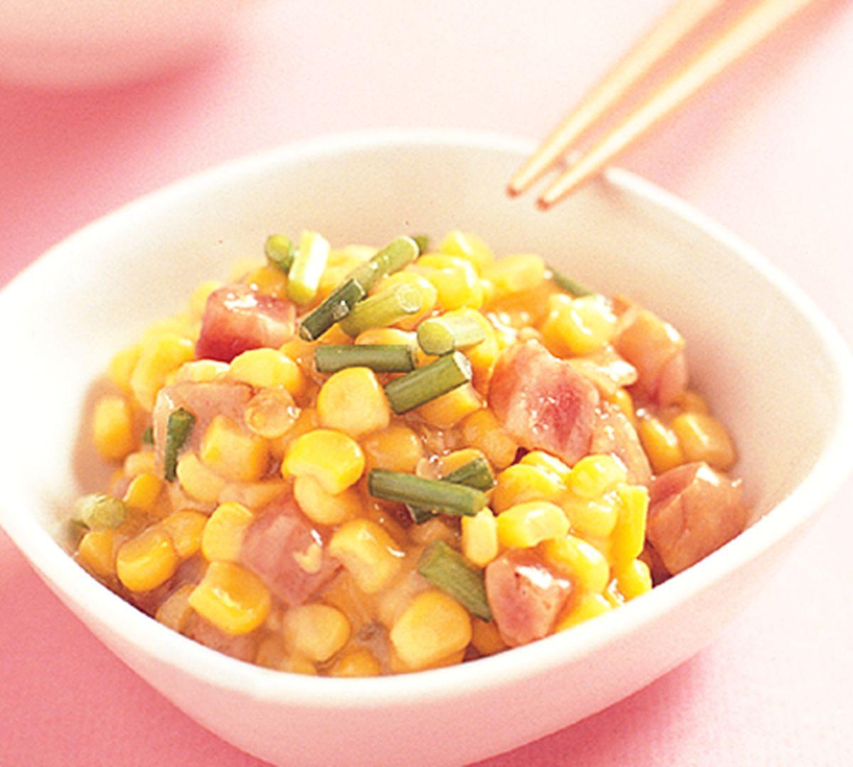 食譜:香腸燴玉米
