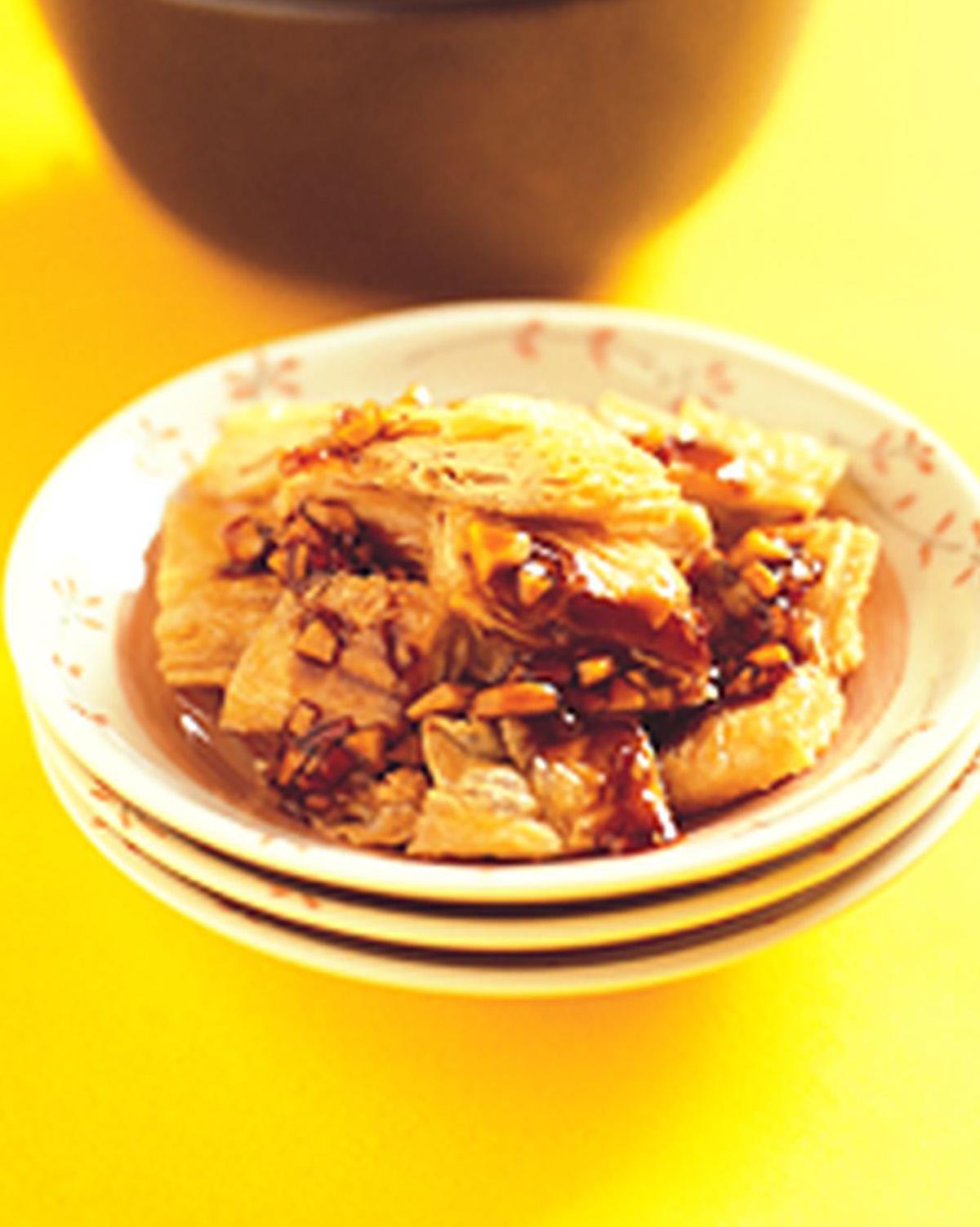 食譜:蒜香豆皮