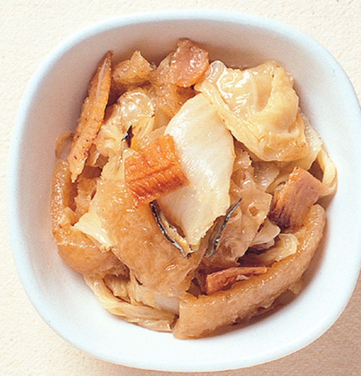 食譜:扁魚滷白菜