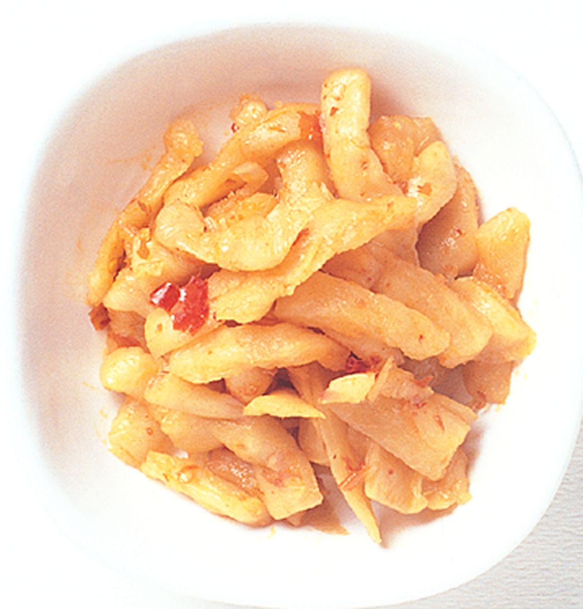 食譜:辣味蘿蔔