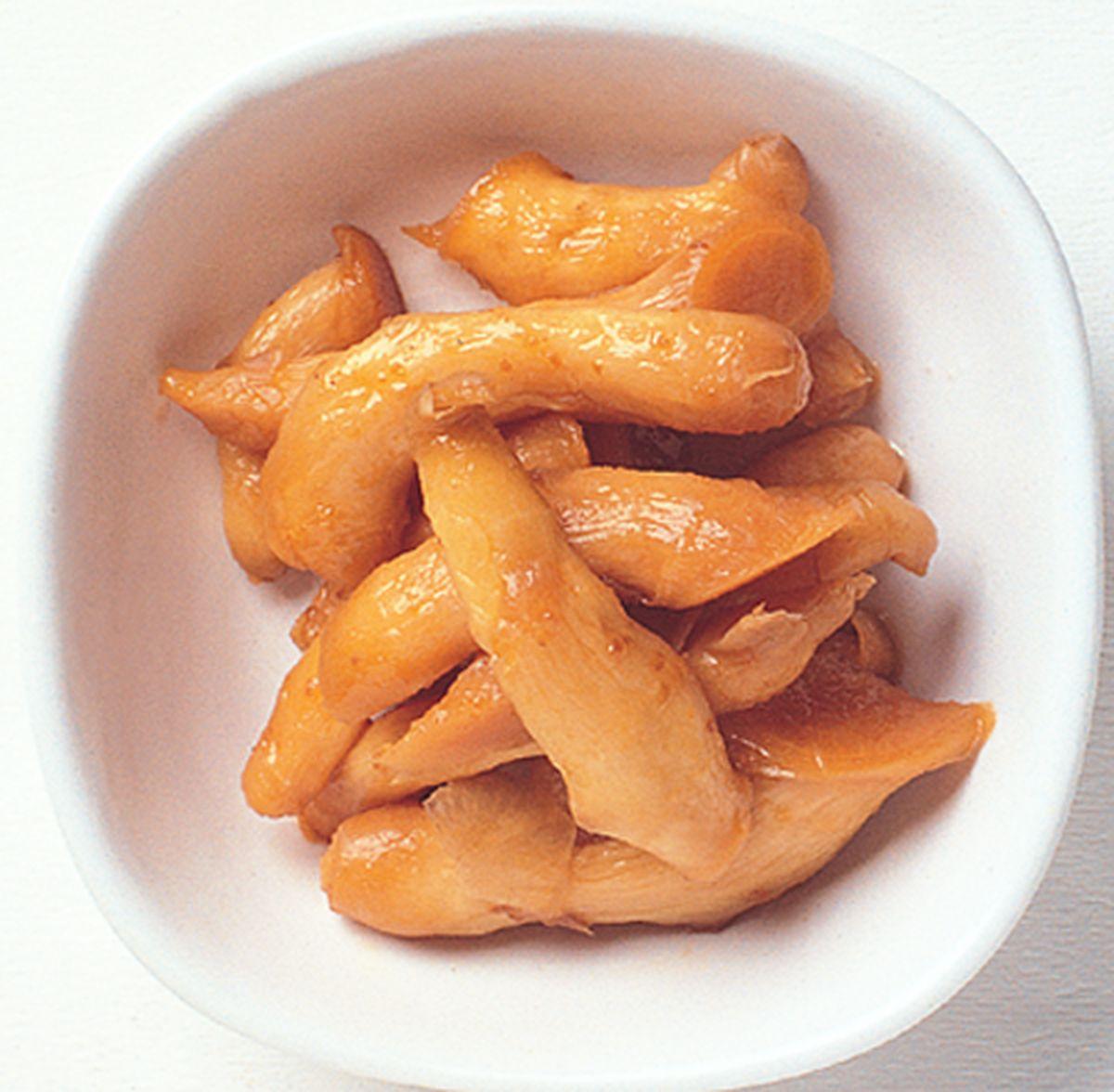 食譜:豆醬醃嫩薑
