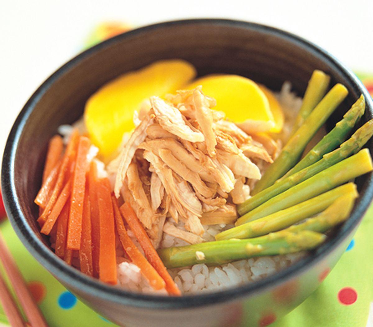 食譜:嘉義噴水雞肉飯