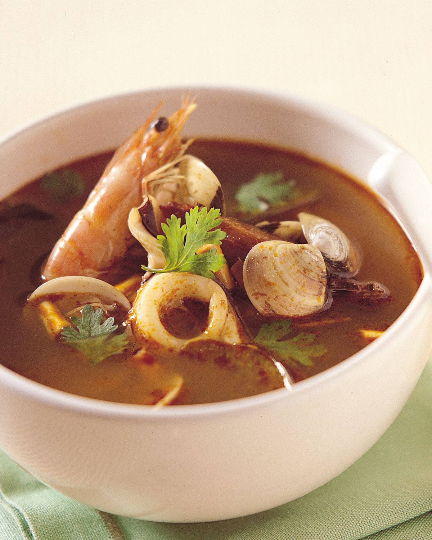 食譜:泰式酸辣海鮮湯