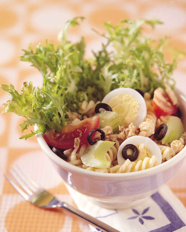 食譜:螺旋麵鮪魚沙拉