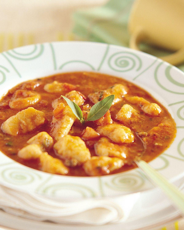食譜:蕃茄洋芋麵疙瘩