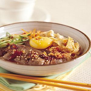韓式辣味拌飯