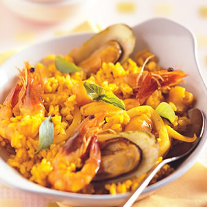西班牙海鮮飯(1)