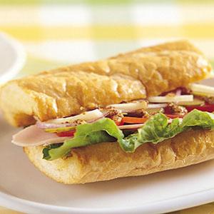 法式芥茉火腿三明治