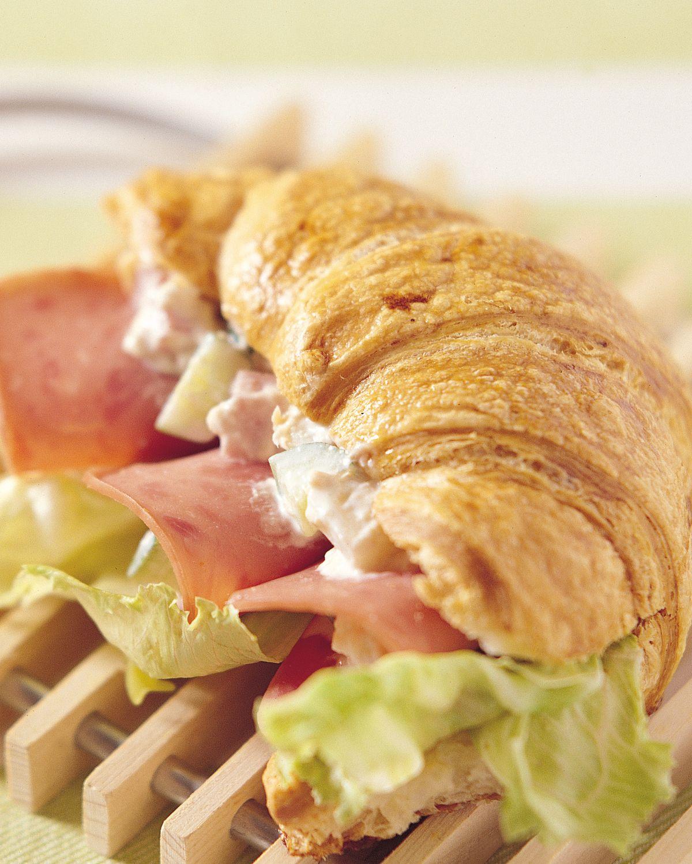 食譜:可頌洋芋三明治