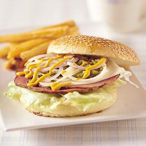 黑胡椒牛肉漢堡