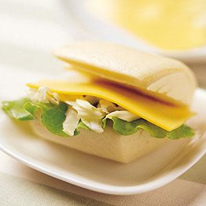 起司饅頭三明治