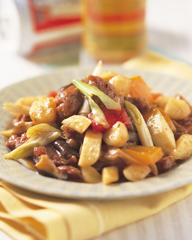 食譜:馬蹄炒羊丁