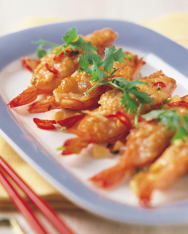 食譜:百花椒鹽蝦