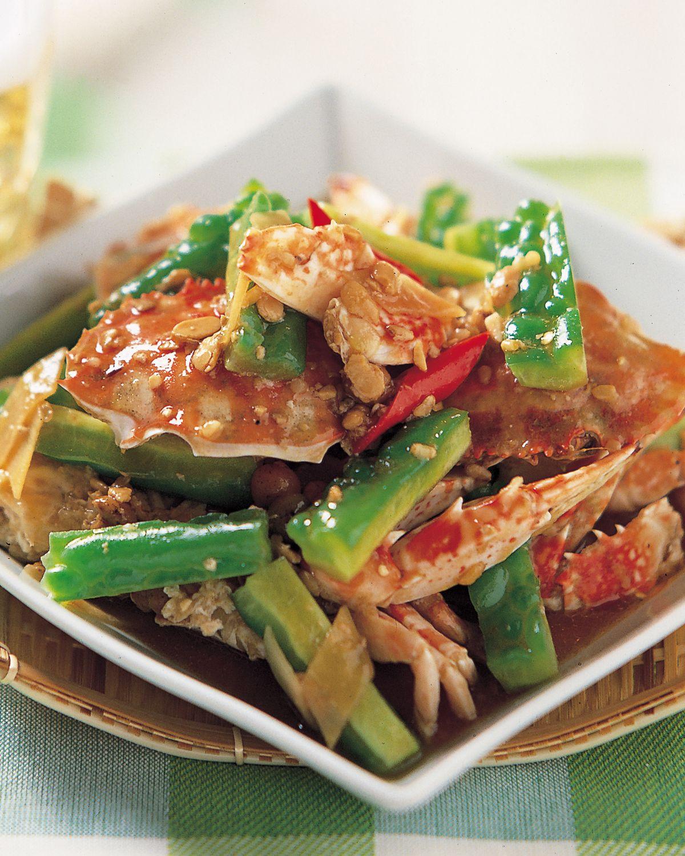 食譜:苦瓜炆花蟹