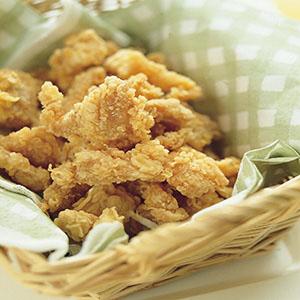 奶油雞米花