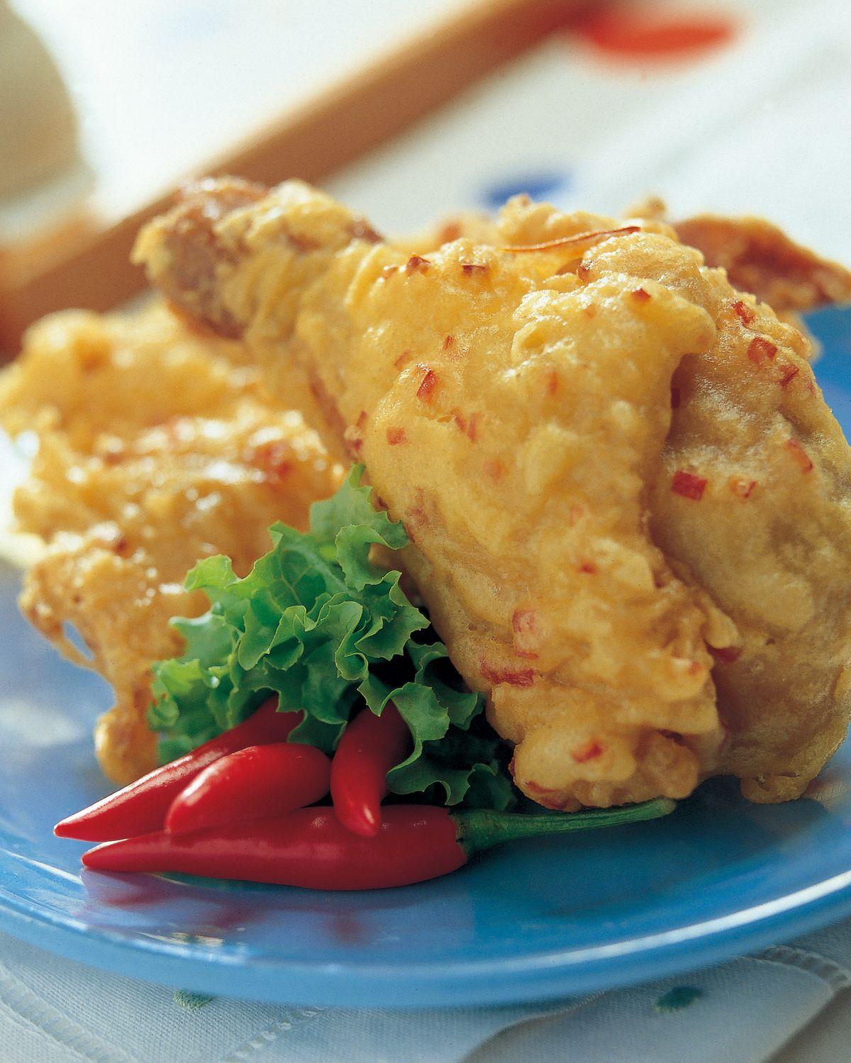 食譜:脆皮辣味炸雞