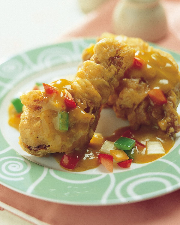 食譜:咖哩炸雞