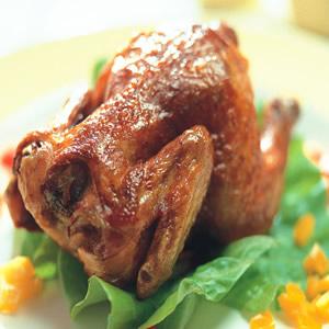 脆皮童子雞