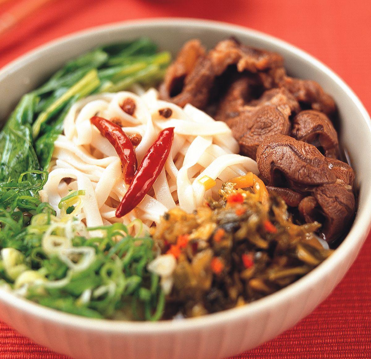 食譜:四川辣子牛肉麵