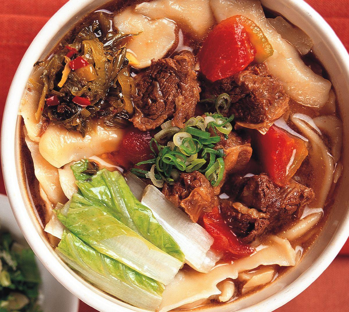 食譜:茄香牛肉刀削麵