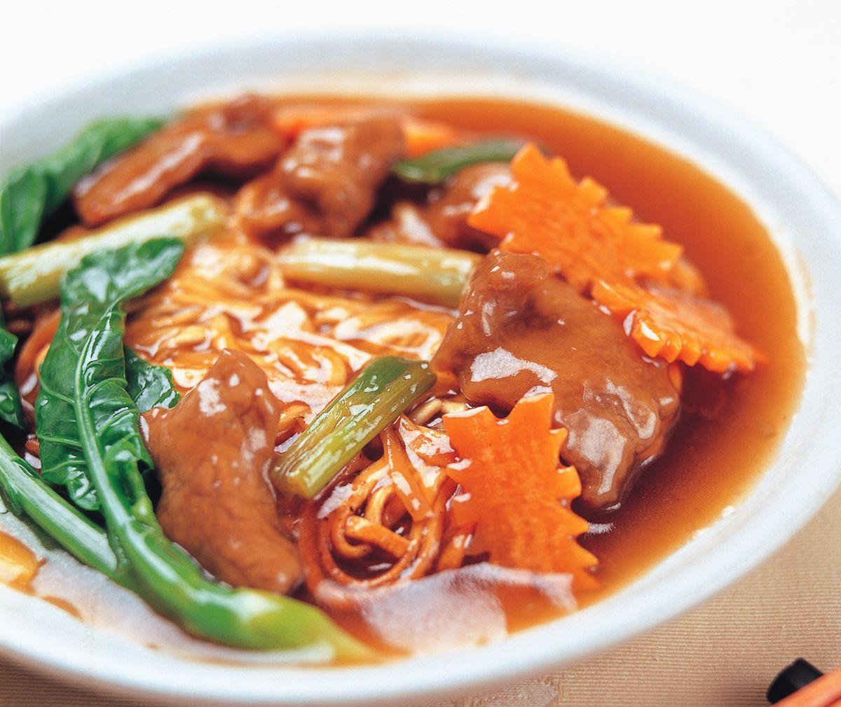 食譜:廣州牛肉炒麵