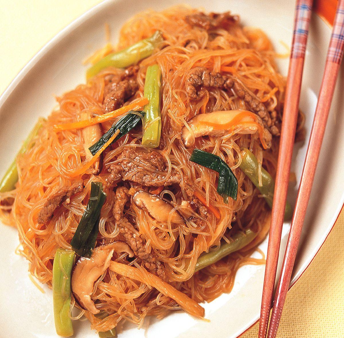食譜:蠔油牛肉炒米粉