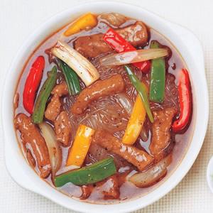 黑胡椒牛肉冬粉